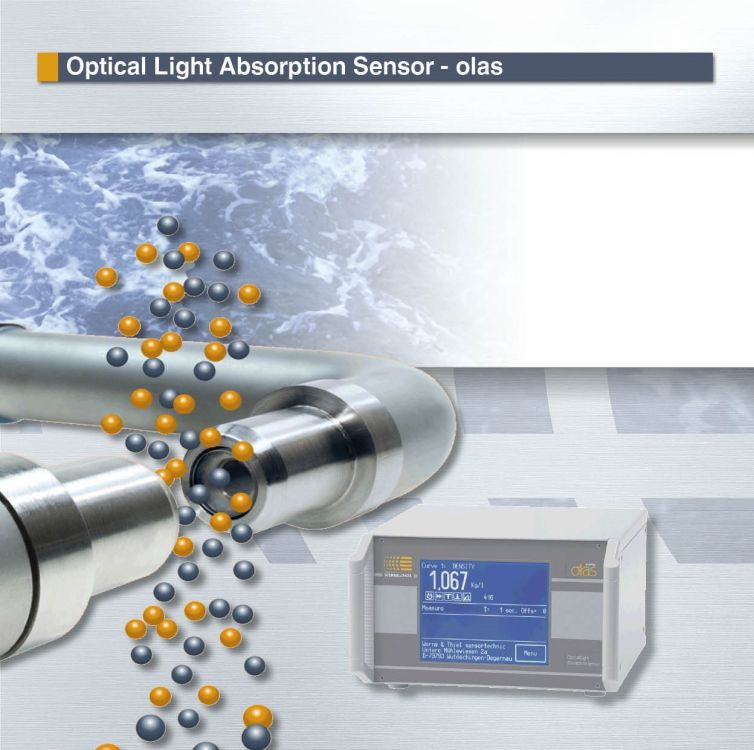 OLAS - Optical Light Absorption Sensor