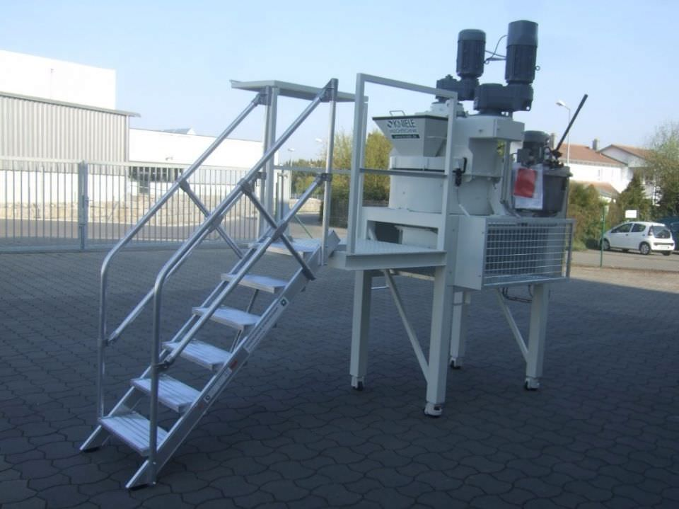 LABORATORY MIXER KKM-L FROM 30 AT 375 LITER